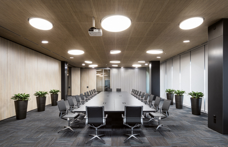 CBI Europe - wood ceilings
